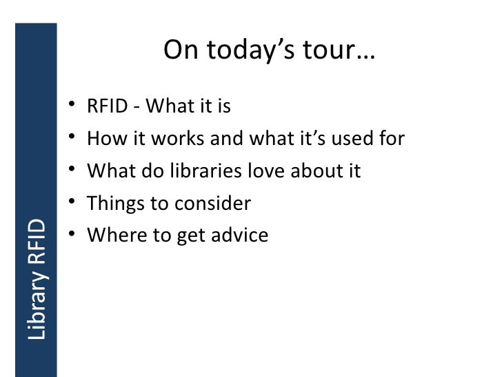 rfid for libraries a practical guide