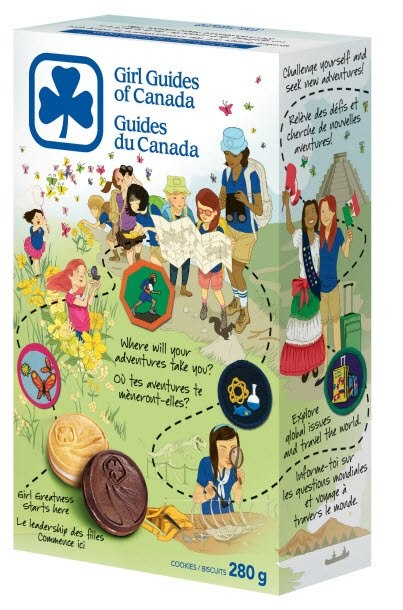 girl guides of canada cookies