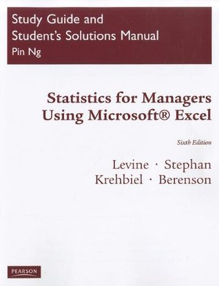 student study guide and solutions manual