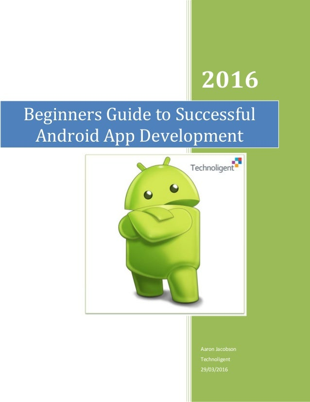 android user guide for beginners