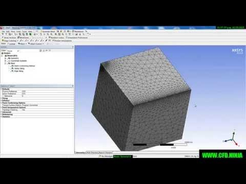 ansys modeling and meshing guide