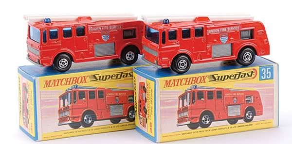 matchbox superfast cars price guide