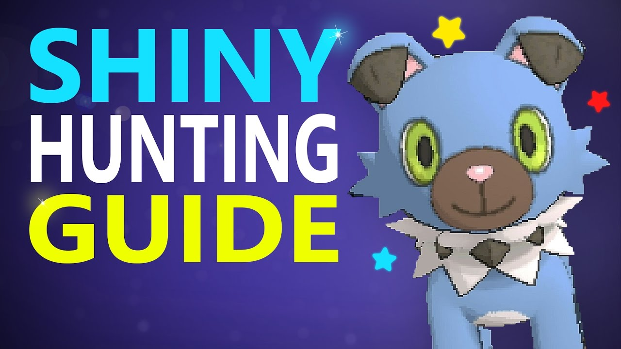 shiny hunting guide sun and moon