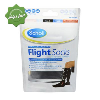 scholl compression stockings size guide