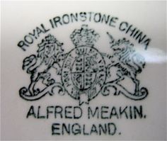johnson bros england china reference guide