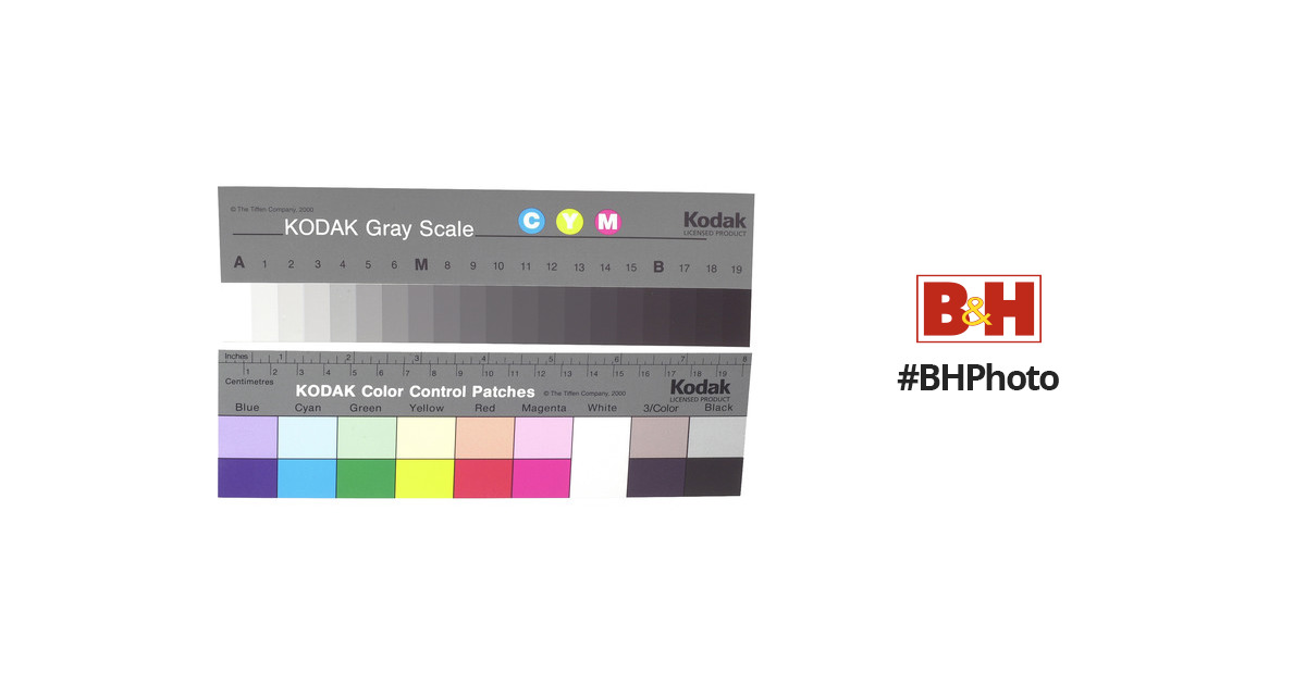 kodak color separation guide and gray scale