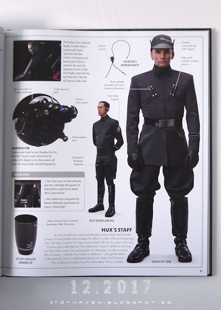 star wars the last jedi visual guide