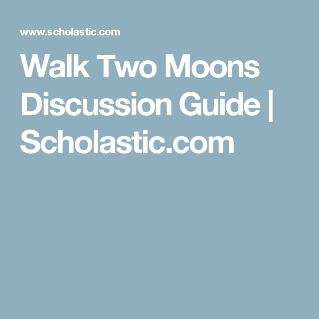 walk two moons guided reading level